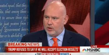 Steve Schmidt: Trump Refusing To Accept Election Results 'Disqualifying Moment'