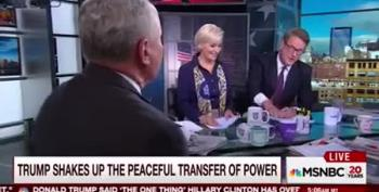 Fight! Scarborough And Kristol Tussle Over Who's To Blame For Trump