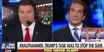 Krauthammer Calls Trump's Refusal To Accept Election Results 'Political Suicide'