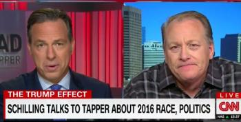 Curt Schilling Takes Jake Tapper Interview Into A Weird Anti-Semitic Place