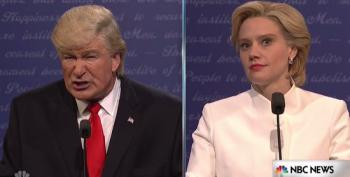 SNL Spoofs The Final Presidential Debate In The Cold Open And Introduced Trump TV!