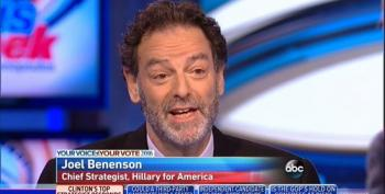 Clinton Campaign Strategist Benenson: I've Seen Things In WikiLeaks Emails That 'Aren't Authentic'