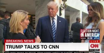 Donald Trump Calls Questioning By Dana Bash 'Rude'