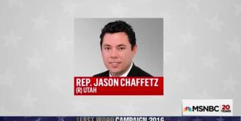 Last Word:  Profile In Cowardice, Jason Chaffetz