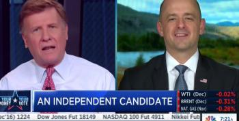Evan McMullin Makes Mincemeat Out Of CNBC Hosts