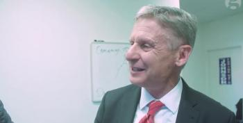 Gary Johnson Loses It When Reporter Challenges His Tax Policy