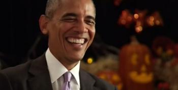 Trick Or Treat! Sam Bee's Halloween Interview With President Obama