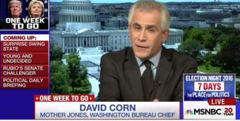 David Corn Takes Susan Ferrechio To Task For Glossing Over Trump's Putin Connections