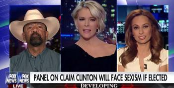 Sheriff Clarke Called Out On His Sexist Comments: 'She's Not Mrs. Bill Clinton'