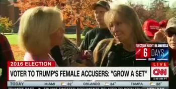 Trump Supporters Behaving Badly: Assault Victims Should 'Grow A Set'
