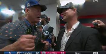 Drunk Bill Murray Interviewing Theo Epstein Is Best Ever