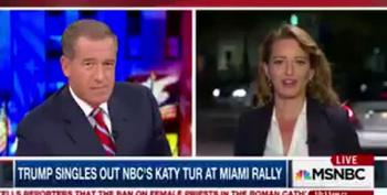 Katy Tur Explains Trump's Personal Attacks Against Her: 'It's A Wild Ride'