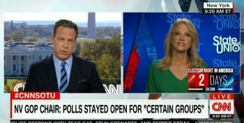 Jake Tapper Calls Out Trump Campaign Manager For Carping About Polls Staying Open 'For Certain Groups'