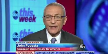 Podesta: Trump Lives 'In A Dark Place'