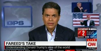Fareed Zakaria: 'Donald Trump Is Not A Normal Candidate. He Is A Cancer On American Democracy'