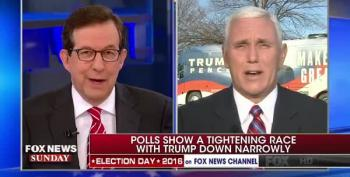 Gov. Mike Pence Makes Case Trump Won't Concede If He Loses Election