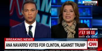 Corey Lewandowski Rips Ana Navarro For Voting For Hillary