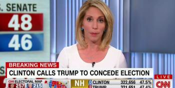 CNN Reports Hillary Concedes The Election