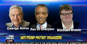 Fox Accuses Jew-Hating Communists And George Soros Of Funding Anti-Trump Protests