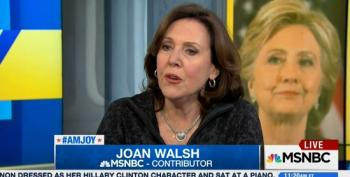 Joan Walsh Blasts Media For Not Covering Clinton's Populist Message