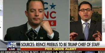 Donald Trump Selects Reince Priebus For Chief Of Staff