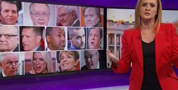 Sam Bee Dissects Trump's Crazy Rumored Cabinet Choices