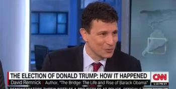 David Remnick Slams Washington's Normalization Of Trump