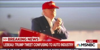 Gaslight Nation: Trump Pretends He Saved Kentucky Auto Jobs (He Didn't)