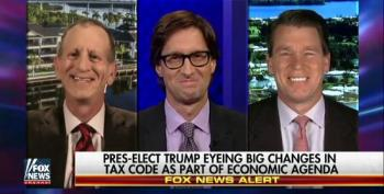 Fox News Just Can't Wait For Trump To Cut Taxes – And Social Security And Medicare, Too!
