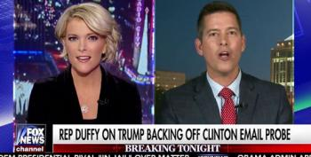 Megyn Kelly Bashes Sean Duffy Over Trump's Flip Flop: 'You Guys Were The Ones Saying Lock Her Up!'
