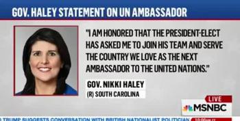 Another GOP Never-Trumper Sells Out:  Nikki Haley