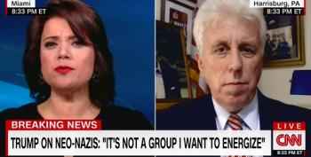 Jeffrey Lord Blames BLM And La Raza For Neo-Nazis Speaking Out