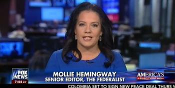'Federalist' Editor Calls Trump's Chants Of 'Lock Her Up' A Metaphor
