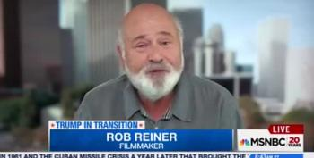 Rob Reiner Name Checks Morning Joe And Blames Celebrity Culture For Trump