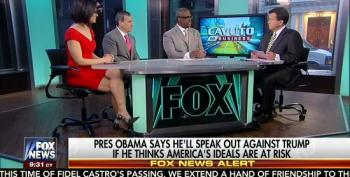 Cavuto, Pals Whine That Obama Will Not Be Silent About Trump