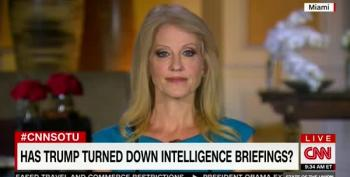 Kellyanne Conway Sends Veiled Threat To Clinton