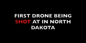 Drones Shot Out Of Sky At Standing Rock