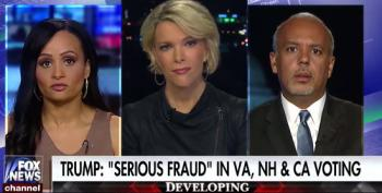 Megyn Kelly Scolds Katrina Pierson Over Trump's Assertion That 'Millions Of Illegals' Voted