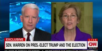 Elizabeth Warren Goes Off On Trump's Wall Street Cronies