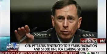 'Petraeus Would Have To Notify Probation Officer If Named Secretary Of State'