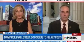 Trump Transition Rep: Never Mind Wall Street's Past, Look Ahead!