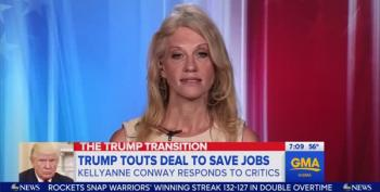 Kellyanne Conway Refuses To Answer Whether Trump's Voter Fraud Tweet Was Appropriate