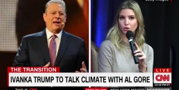 Ivanka Trump, Who's Moving To DC, Meets With Al Gore