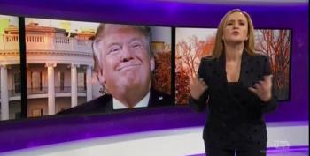 Samantha Bee Looks At Trump Transition: 'He's Taking A Dump In The Potomac'
