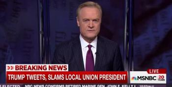 Lawrence O'Donnell Reports On Trump's Attack On Local Union President