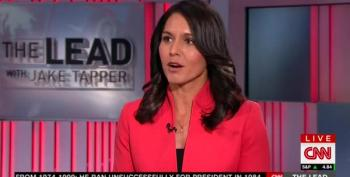 Tulsi Gabbard Scolds Critics Of Trump's Military Cabinet