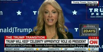 Kellyanne Conway Defends Trump Staying On As 'Apprentice' Producer: Obama Played Golf!