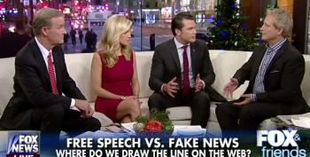 Fox And Friends' Steve Doocy: 'Real News Is Sometimes Fake News'