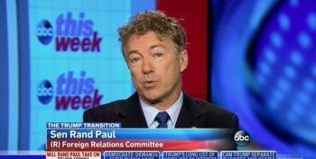 Rand Paul Threatens To Block John Bolton Nomination