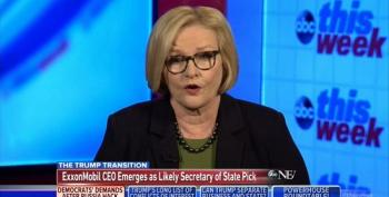 Sen. McCaskill: Trump's Cabinet Filled With 'Goldman, Generals And Gazillionaires'